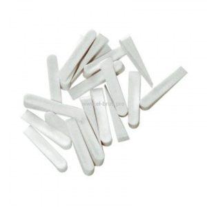 Клинья для плитки 32х8х9мм белый TOOLBERG 50шт