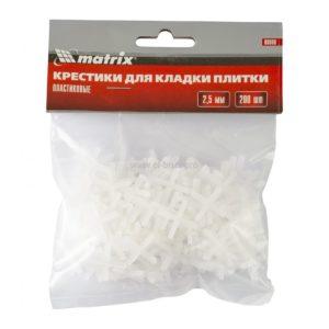 Крестики для плитки 2,5мм MATRIX 200шт