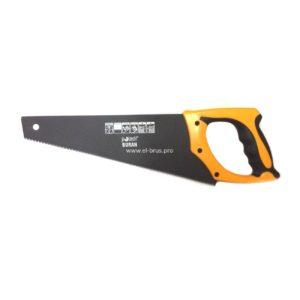 Ножовка по дереву  9TPI 3D тефлон POBEDIT Buran 450мм