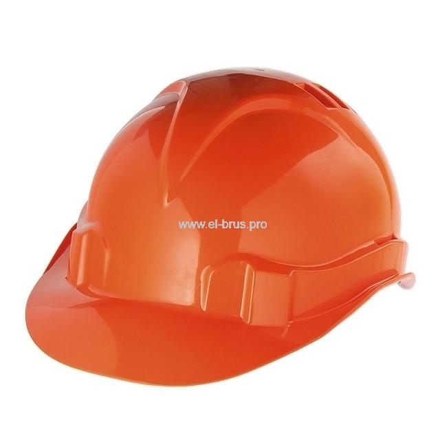 Каска защитная оранжевая СИБРТЕХ