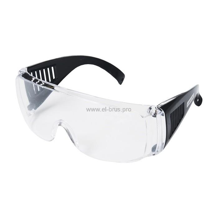 Очки защитные с дужками прозрачные ПОЛИТЕХ