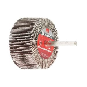 Круг лепестковый для дрели MATRIX Ø40х20х6мм Р40