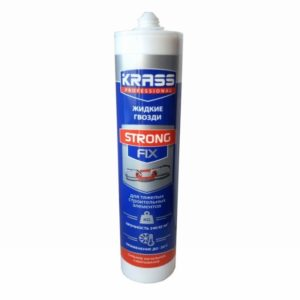 Жидкие гвозди для тяжелых строительных элементов KRASS Strong Fix 300мл