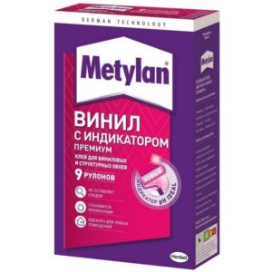 Клей для виниловых и структурных обоев METYLAN Винил Премиум 300г
