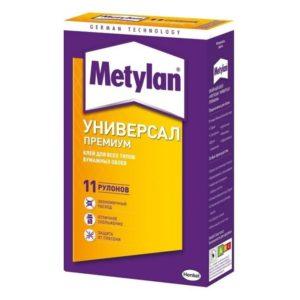 Клей для всех типов бумажных обоев METYLAN Универсал Премиум 250г