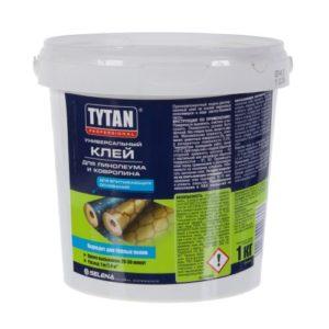 Клей универсальный для линолеума и ковролина TYTAN 1кг