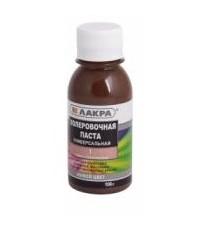 Колеровочная паста универсальная темно-коричневая №1 ЛАКРА 100г