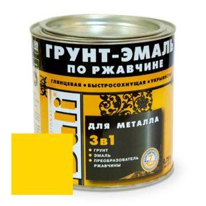 Грунт-эмаль по ржавчине желтая DALI  0,75л