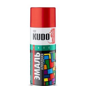 Эмаль аэрозольная универсальная алкидная красная KUDO KU-1003 520мл