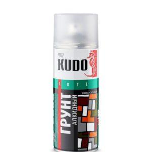 Грунт аэрозольный красно-коричневый KUDO 520мл