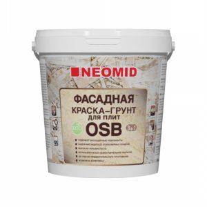 Фасадная краска-грунт для плит OSB 3 в 1