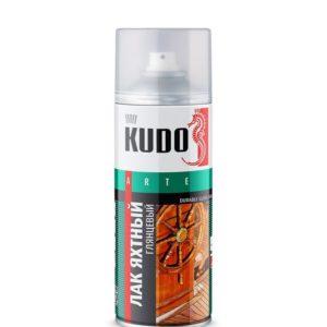 Лак аэрозольный яхтный глянцевый KUDO 520мл