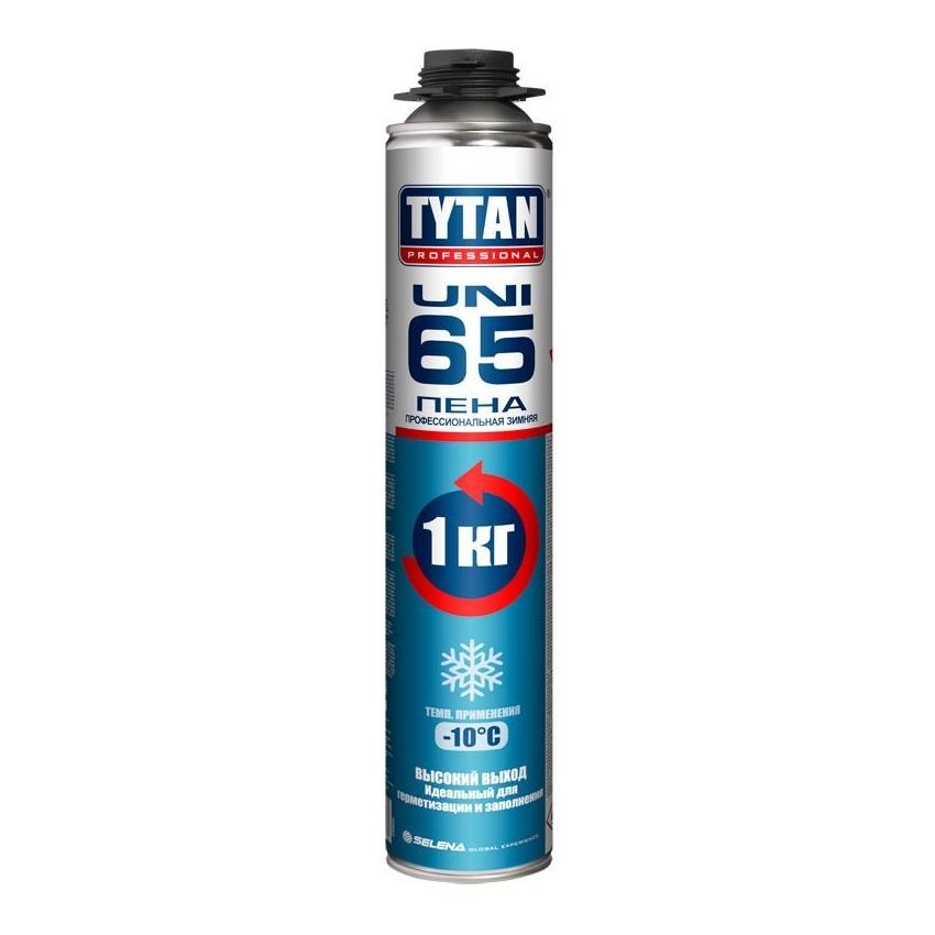Пена монтажная профессиональная зима TYTAN Uni 65 750мл