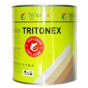 Пропитка защитно-декоративная для дерева  белая TRITONEX Toplasur 0,75л