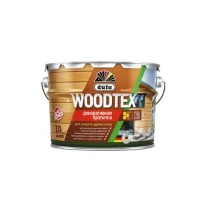 Пропитка защитно-декоративная белая WOODTEX Düfa 3л