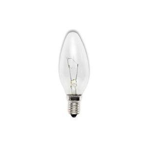 Лампа накаливания свеча  прозрачная КАЛАШНИКОВО  Е14 40Вт 220В