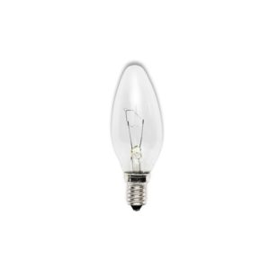 Лампа накаливания свеча  прозрачная КАЛАШНИКОВО  Е14 60Вт 220В