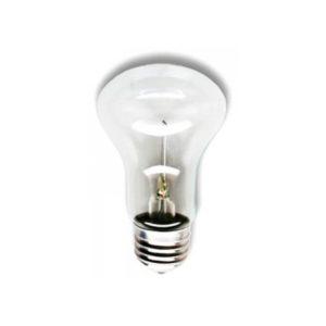 Лампа накаливания гриб прозрачная КАЛАШНИКОВО  Е27 40Вт 36В