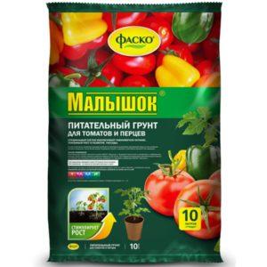 Грунт для томатов и перцев ФАСКО Малышок 10л