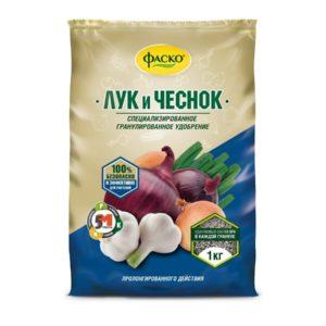 Удобрение для лука и чеснока ФАСКО 1кг сухой