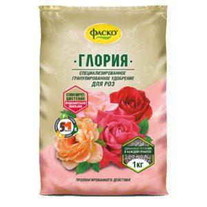 Удобрение для роз ФАСКО Глория 1кг сухой