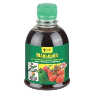 Удобрение органоминеральное для томатов ФАСКО Малышок 250мл жидкий