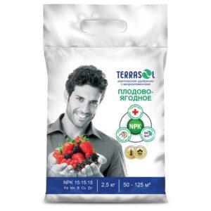 Удобрение для плодово-ягодных ФАСКО ТерраСол 2,5кг сухой