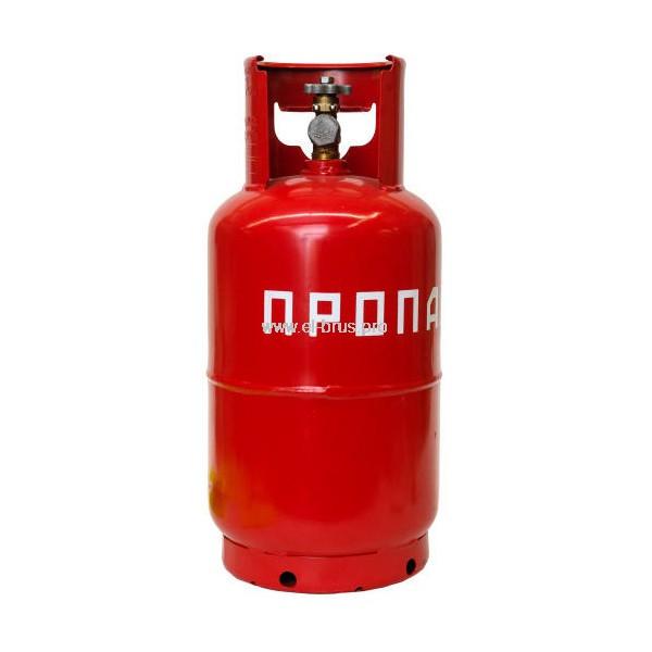 Газовый баллон с вентилем ВБ-2 ПК 12л