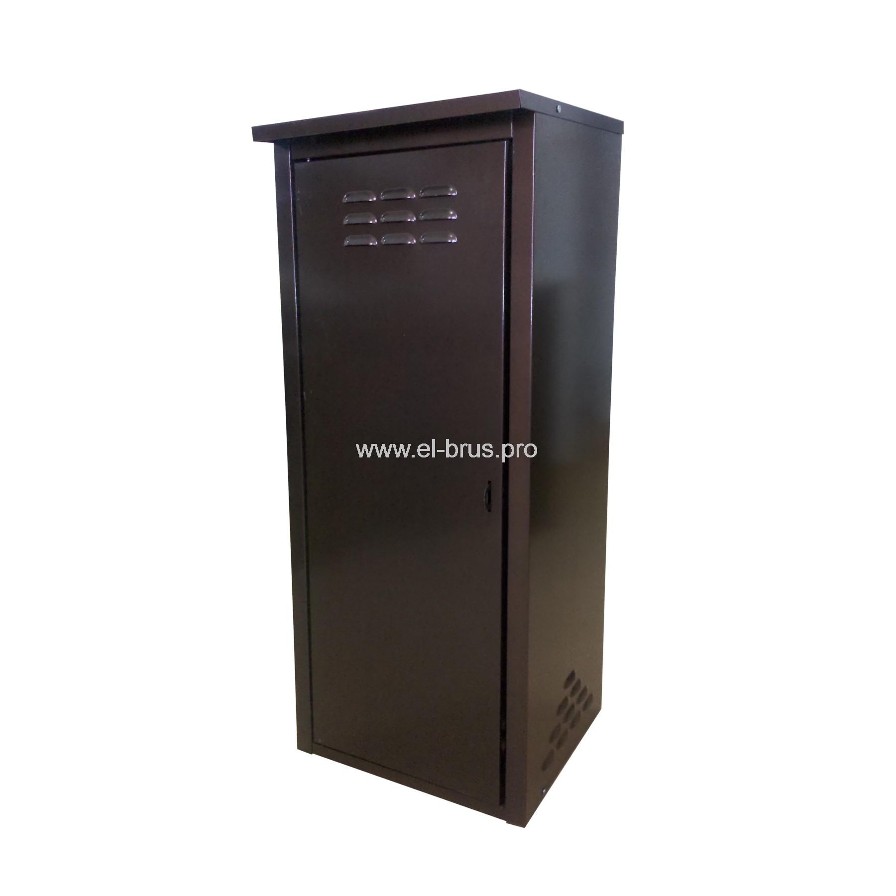 Шкаф для 1 газового баллона на 50л коричневый ПЕТРОМАШ