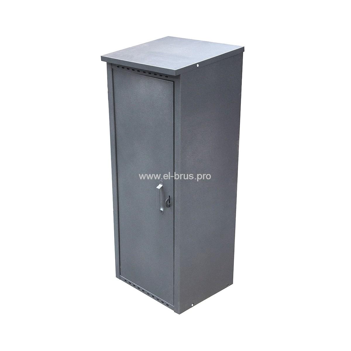 Шкаф для 1 газового баллона на 50л серый ПЕТРОМАШ