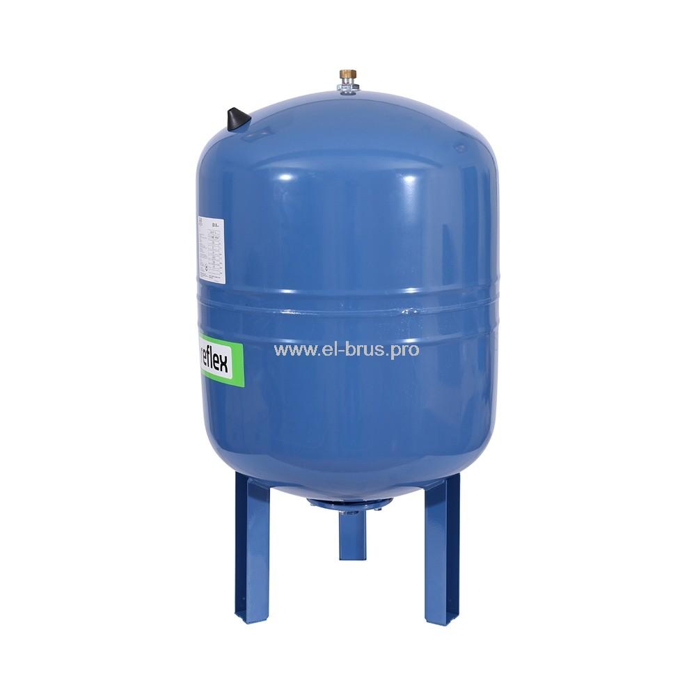 Гидроаккумулятор вертикальный синий REFLEX 100л