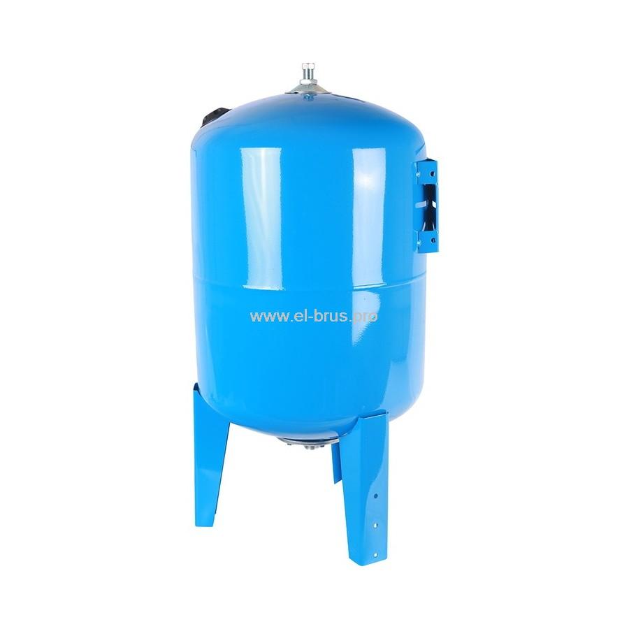 Гидроаккумулятор вертикальный синий STOUT 150л
