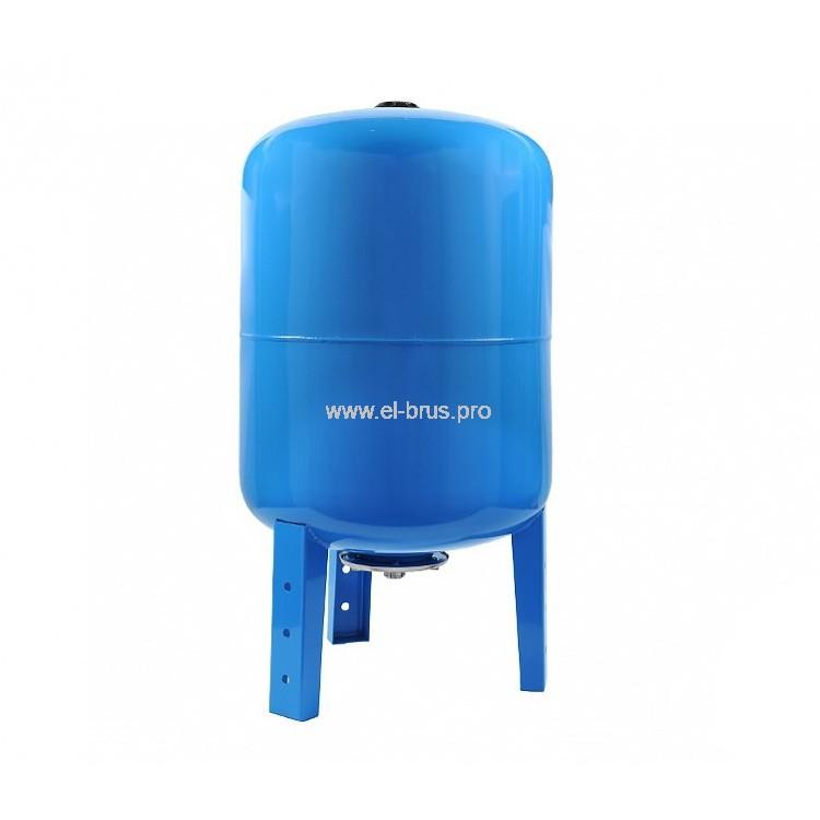 Гидроаккумулятор вертикальный синий UNIPUMP 50л