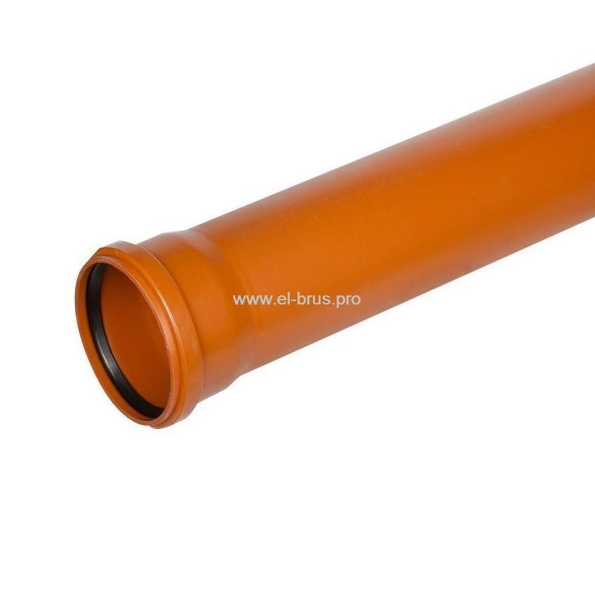 Труба с раструбом ПП Ø110х500мм НК