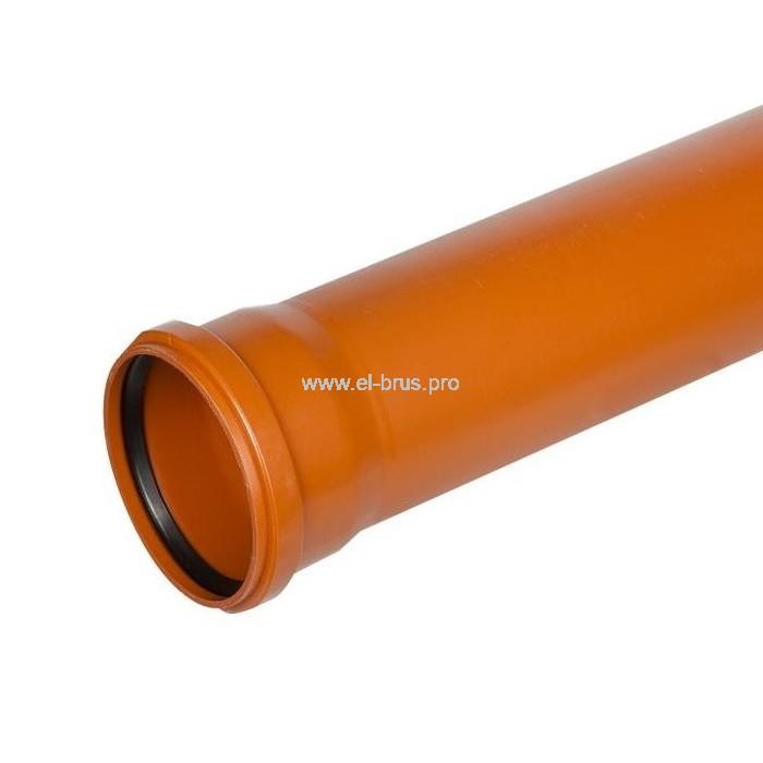 Труба с раструбом ПП Ø160х1000мм НК