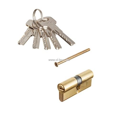 Цилиндровый механизм 70мм золото VANGER IM-70-G