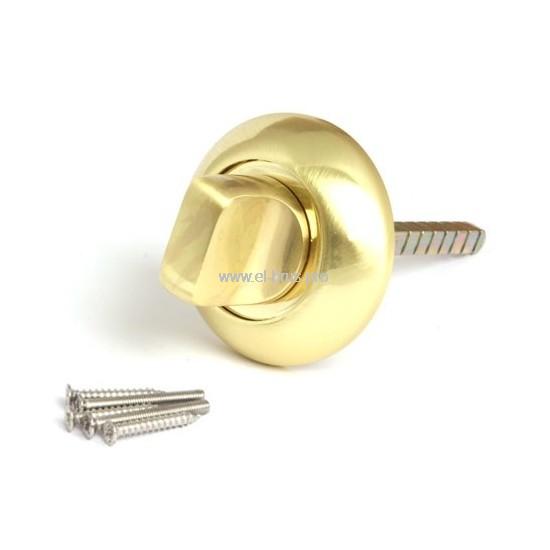 Поворотник-фиксатор для замков золото мат. APECS TT-0803-6 GM