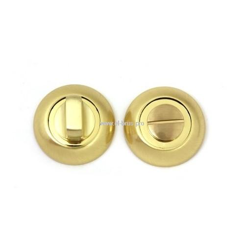 Поворотник-фиксатор для замков золото мат. APECS Megapolis WC-0803-GM