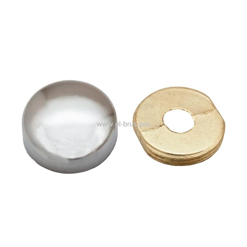 Комплект держателей для зеркала хром TRODOS