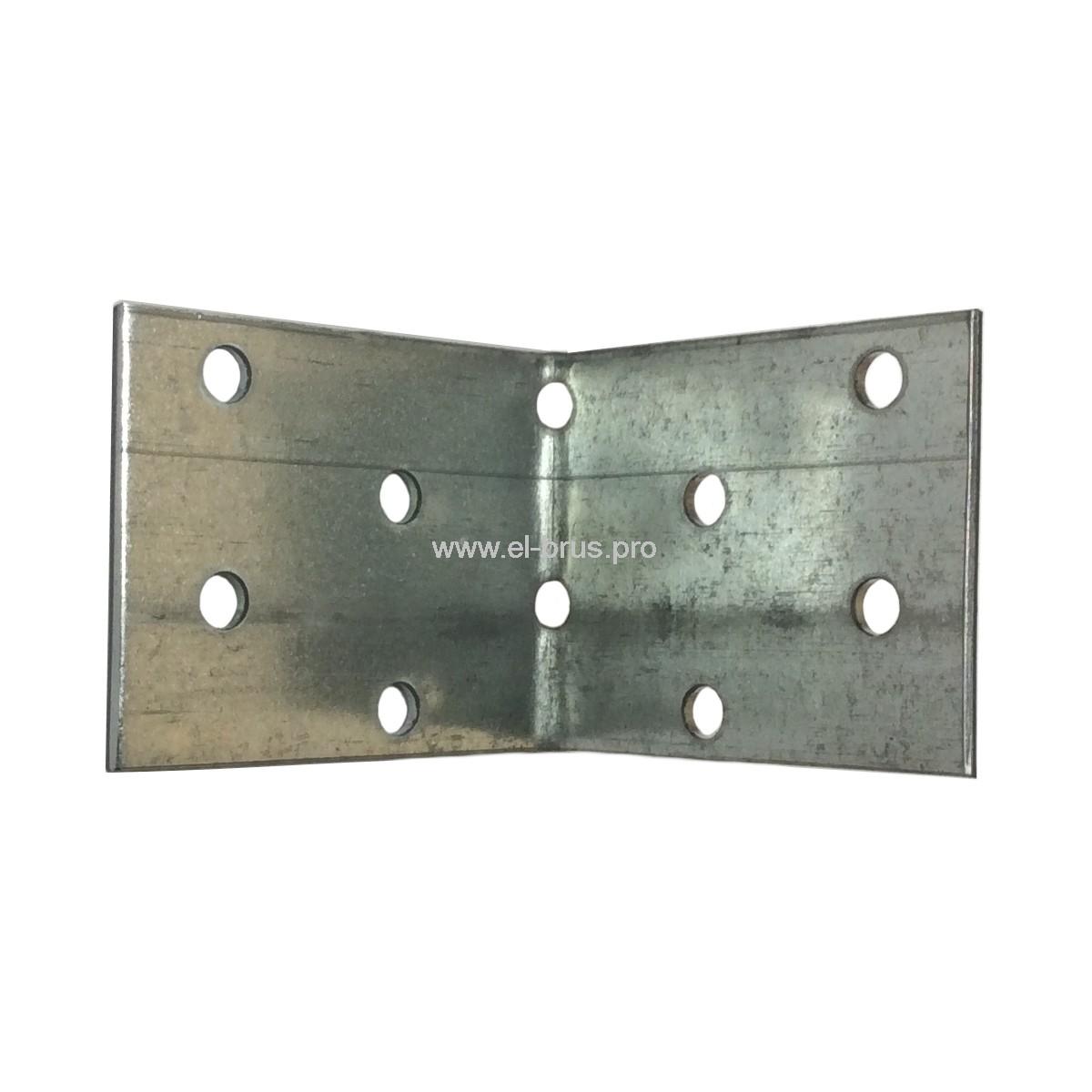 Угол крепежный равносторонний  KUR-40х50х50мм