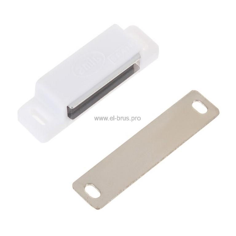 Мебельный магнит белый AMIG 50мм