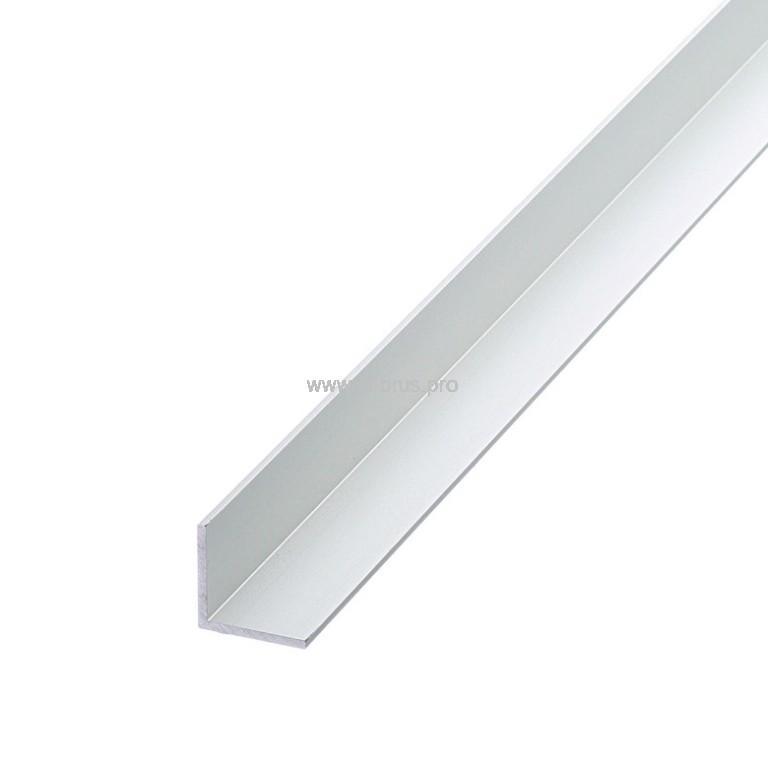 Профиль алюм. уголок 15х15х1,0х2000мм