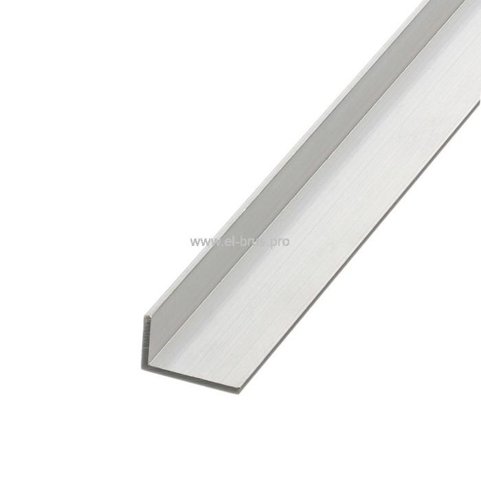 Профиль алюм. уголок 25х15х2,0х2000мм