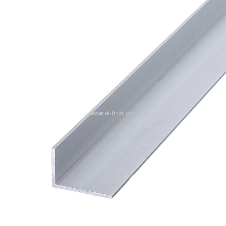 Профиль алюм. уголок 50х30х2,0х2000мм