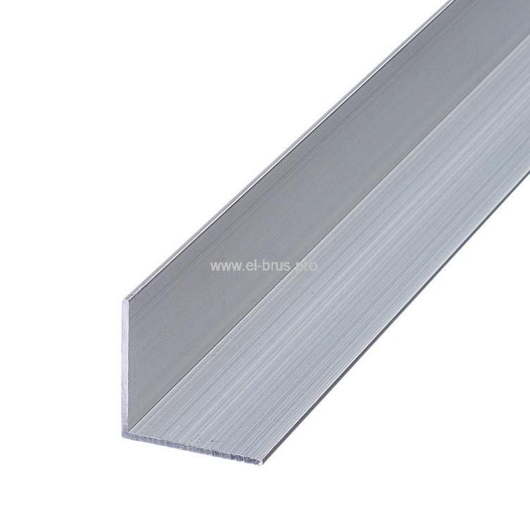 Профиль алюм. уголок 50х50х2,0х2000мм