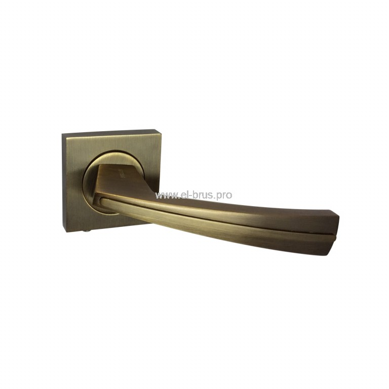 Комплект дверных ручек бронза VALLEY W-100 BR