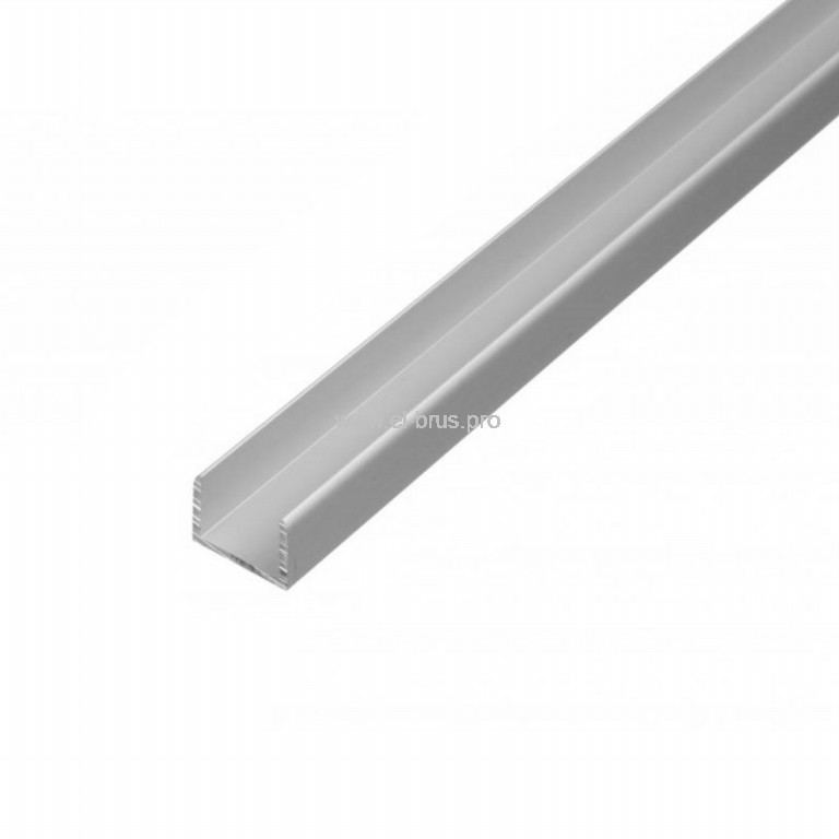 Швеллер алюм. 10х15х10х1,0х2000мм