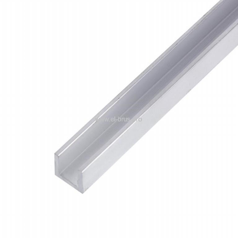 Швеллер алюм.  8х10х8х1,5х2000мм