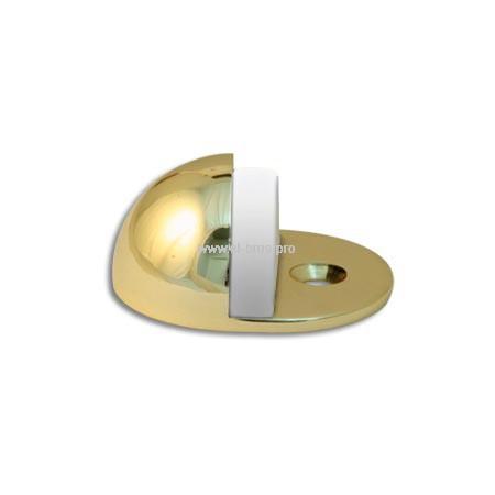 Упор дверной напольный 24мм золото APECS DS-0002-G
