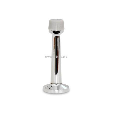 Упор дверной настенный 79мм хром APECS DS-0015-CR